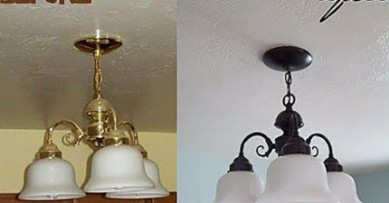 33種噴漆的超級妙用,讓單調的家居品也能變成高貴裝飾!