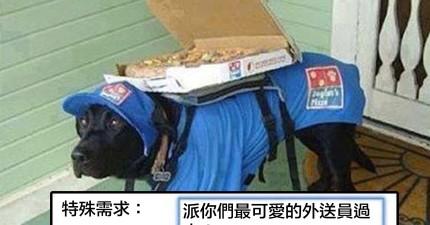 13個訂外送比薩時的超奇怪客戶要求 「請幫我畫一隻雞在盒子上」