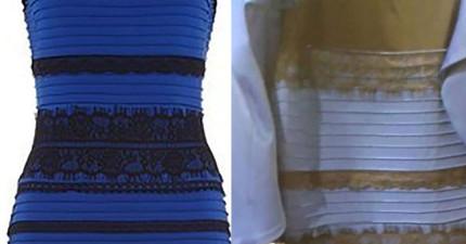 為什麼每個人看到這件天殺的洋裝的顏色都不一樣?科學解答就在這!