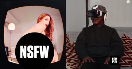 一群老人家戴上虛擬實境眼鏡看X片。1:20那一刻證明這就是我們的未來。