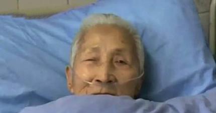 這位94歲的中國老太太中風甦醒後,竟然只會講一口流利的英語!