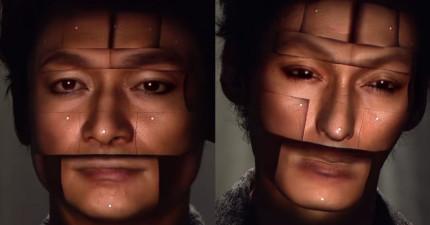 希望有天我們的臉可以變成這樣,以後就不用化妝了!