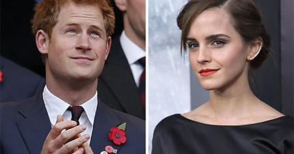 外界都在謠傳艾瑪華森正在跟哈利王子約會,結果她天才的回復摧毀了所有人的幻想。