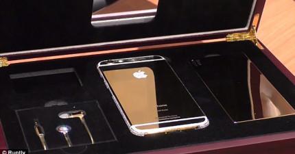 這支有史以來最昂貴的iPhone 6要價竟可以讓你買下一座小島!