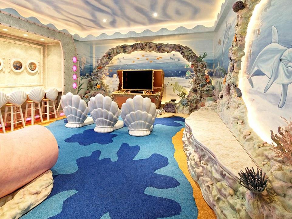 億萬富翁女兒房間有多奢侈?光裝潢就220萬「房間裡有飛機」