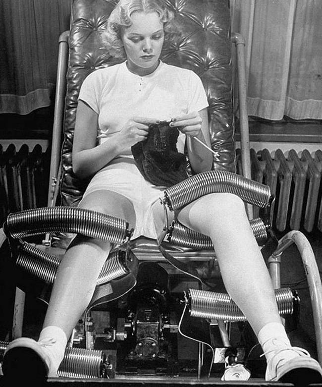 14個超驚悚的歷史美容儀器會讓你看到,不管過了多久女人都可以為了美連命都可以不要!