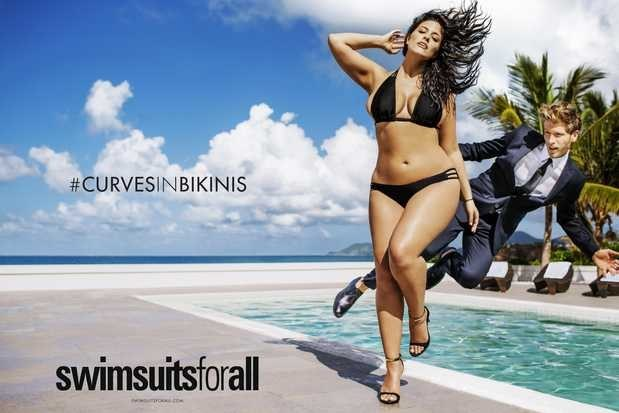 Everybody's been talking about how model Ashley Graham will appear in an ad in this year's Sports Illustrated swimsuit issue.