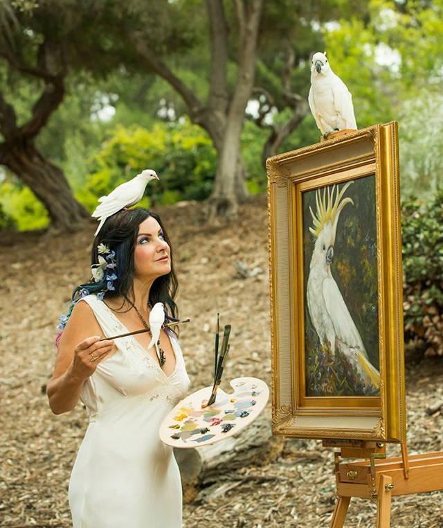 這名天才藝術家看到的顏色是一般人的100倍,這也是為什麼她的畫作實在太特殊了!
