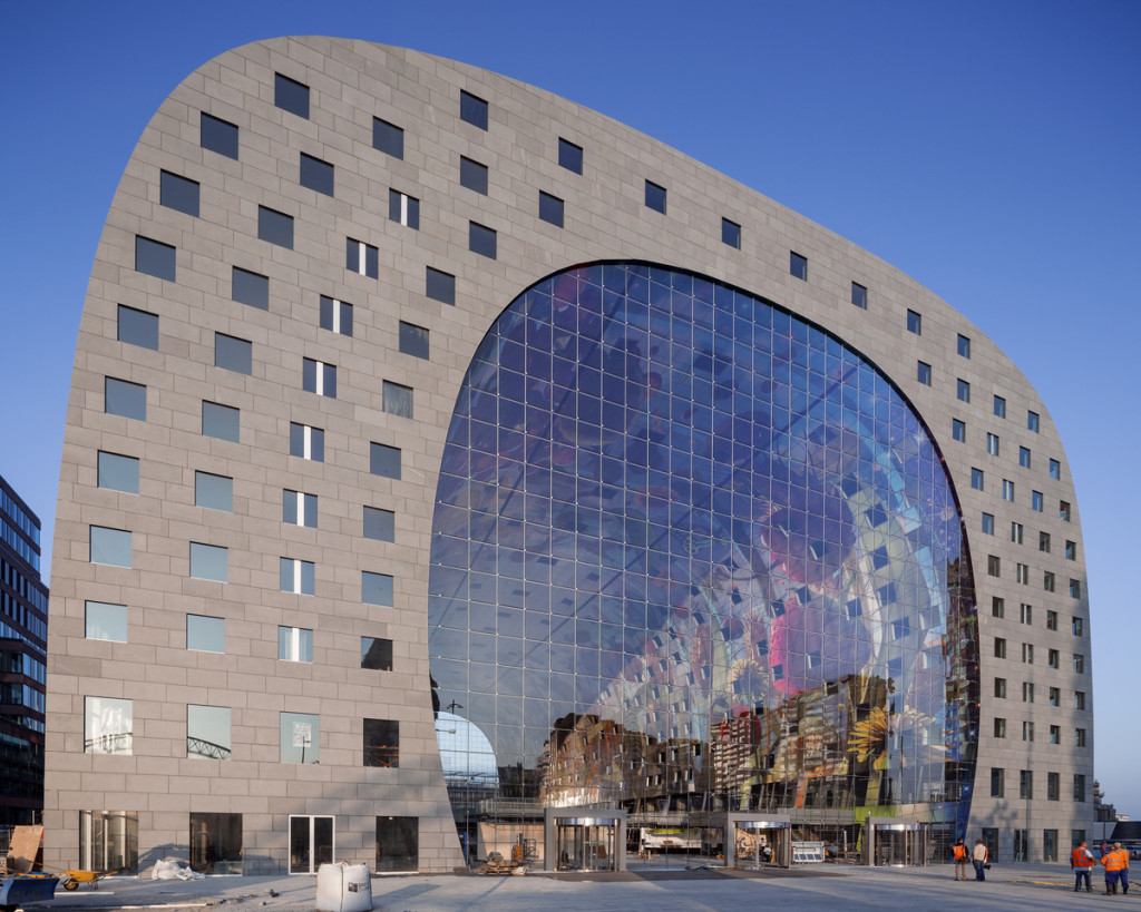 "來自荷蘭的設計""Markthal Rotterdam""。"
