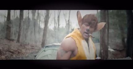 迪士尼最新真人版電影,巨石強森飾演「小鹿斑比」!