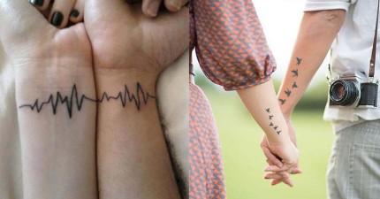 20個會讓所有情侶長長久久的真愛情侶刺青!