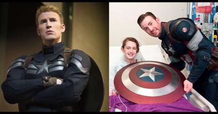 這12位超級英雄除了在電影中伸張正義以外,在現實生活中也是不折不扣的大英雄!