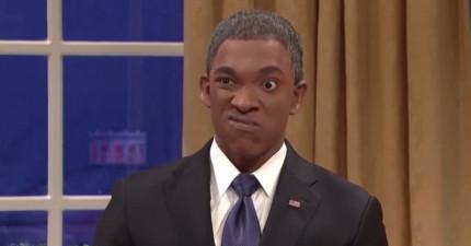絕對不要把歐巴馬總統惹火,因為他會變身成最可怕的浩克!