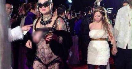 深圳時裝周的紅毯上出現這位大膽的光頭大姐,勁爆風格讓所有人好奇她到底是誰?!