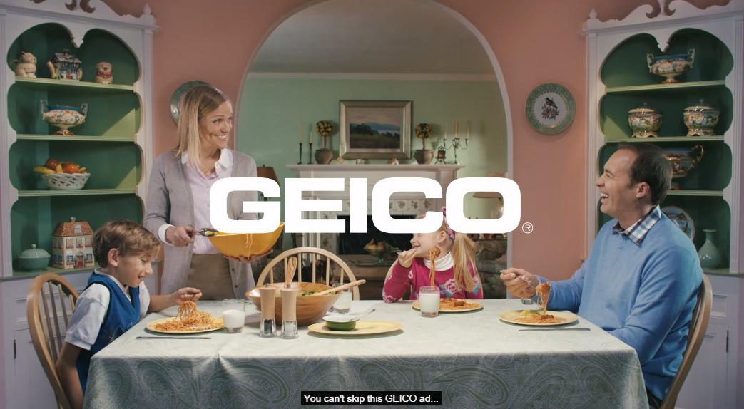 這家保險公司終於想到了一個絕妙的方法,讓你怎麼樣都不會跳過他們的廣告。