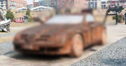 這台史上絕無僅有、用磚頭打造而成的超逼真賓士轎車絕對會讓你看得大開眼界!
