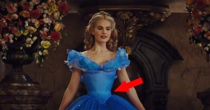 迪士尼不僅卡通公主很夢幻,連最新電影版真人版灰姑娘的水蛇腰也太誇張了吧?!