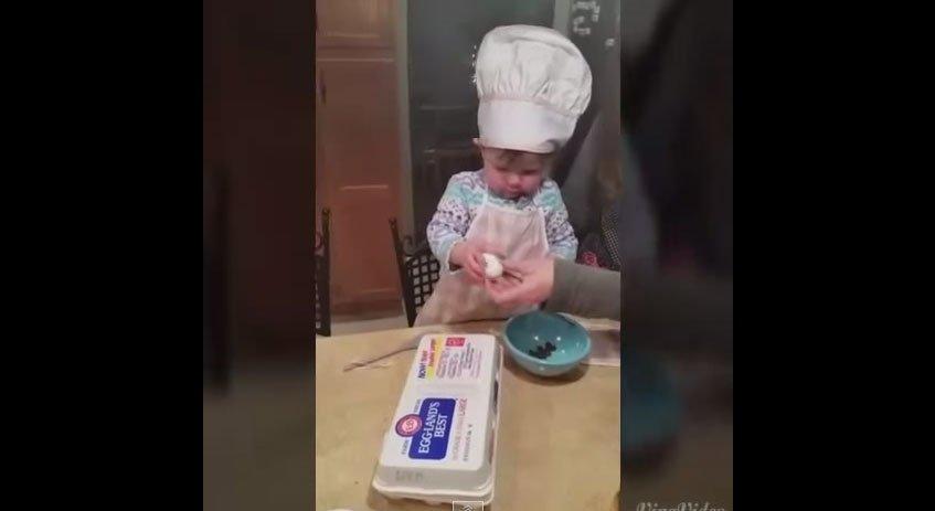 給小女生雞蛋