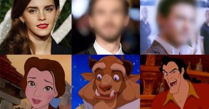在迪士尼公布艾瑪華森將主演《美女與野獸》後,野獸和大壞蛋也完美出爐了!