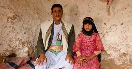 這位葉門的8歲女童在「新婚之夜」去世,沒想到在我們的舒適世界之外還有這樣不合理的事情在發生。