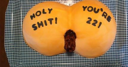19個存心是要來報復壽星的超驚悚噁心生日蛋糕。