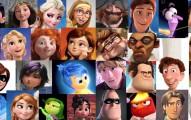 若你剖析所有迪士尼角色的臉型後...你會發現女性角色根本都長得一模一樣!?