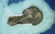 乍看這座「陰莖島」的形狀會人想歪...但近看島上美景絕對是你的人間仙境!