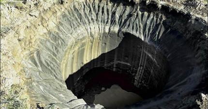 俄羅斯不斷冒出科學家無法解釋的神祕隕石坑,莫非外星人就在地底下?!
