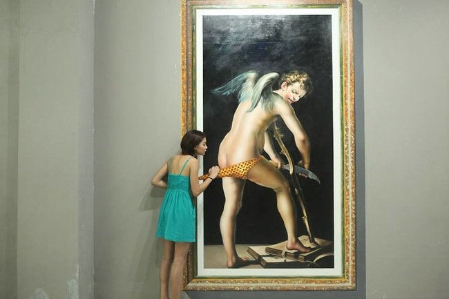 一般美術館都禁止遊客拍照觸摸,但這間自拍美術館拜託你一定要去「玩」作品!