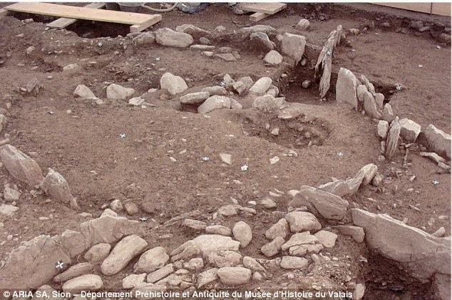 The 2,500-year-old burial mound has at its heart a 14 square metre burial chamber, not yet opened, of an ancient royal