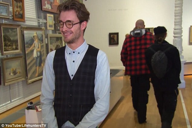 Hit a nerve? Two men who had praised the painting were so offended when told that it was a cheap IKEA print that they left without a word
