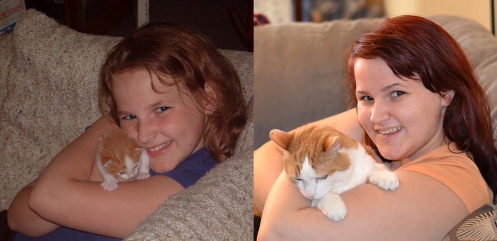 兩張照片相差了11年!