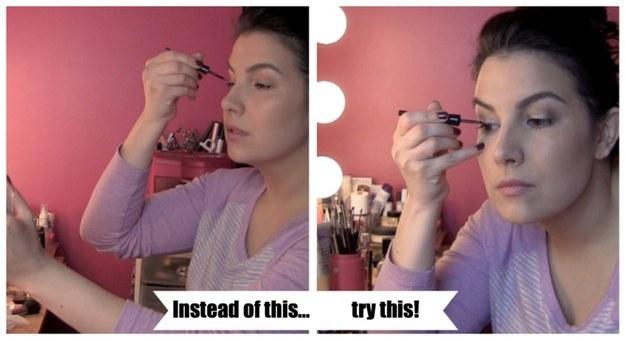 18個化妝小秘訣讓新手都能畫出完美的超美眼線。#17根本就是秒神招!