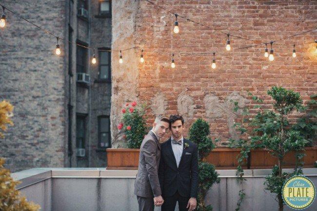 2位超帥男模示範復古同志婚紗照,帥到讓所有性別性向的人都受不了。