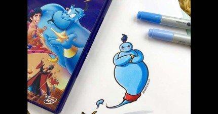 22個不同迪士尼角色造型的杯麵會徹底征服你的心!