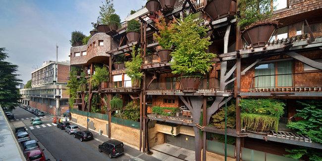 義大利出現了一棟都市叢林,除了外型魔幻外還會讓你分不清到底是住家還是森林!
