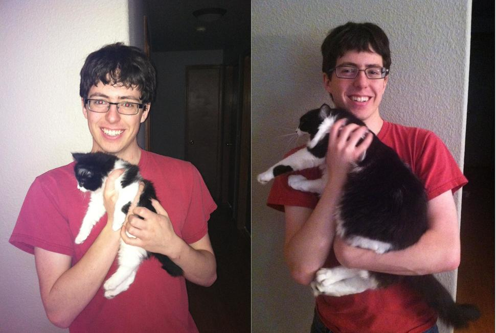 一年後的差別!