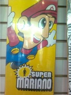 No mustache Mario freaks me out.