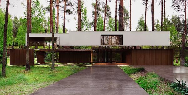 這間位於森林裡神奇的「騰空房子」,會讓你想立刻搬進去住!