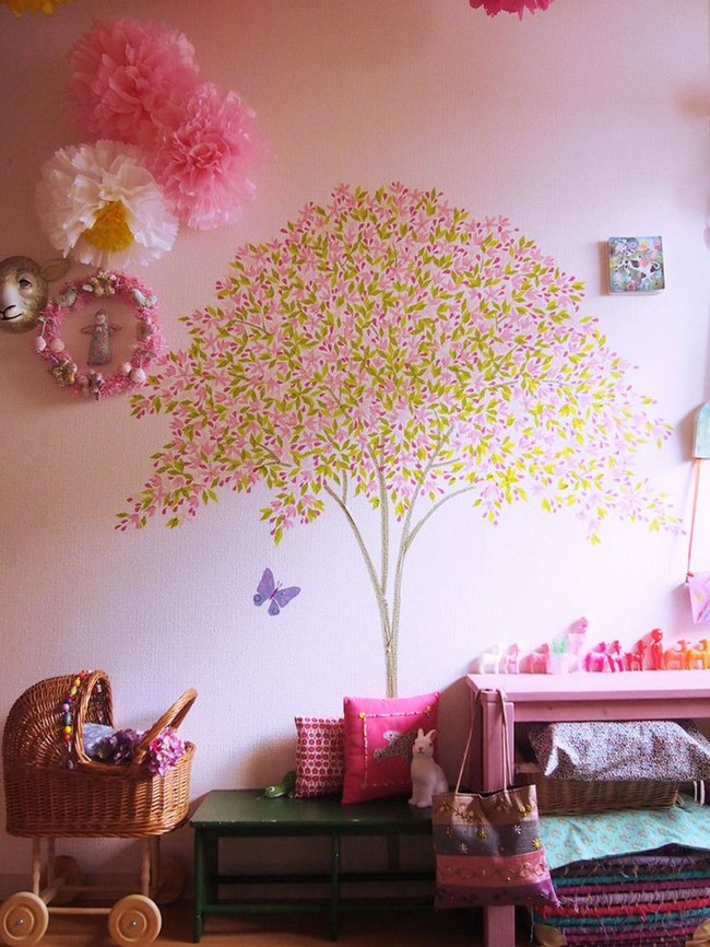 Make a kid's room magical.