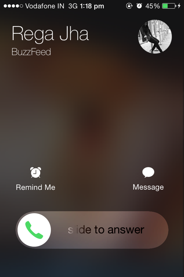 Have you ever wondered why your iPhone sometimes receives calls like this...