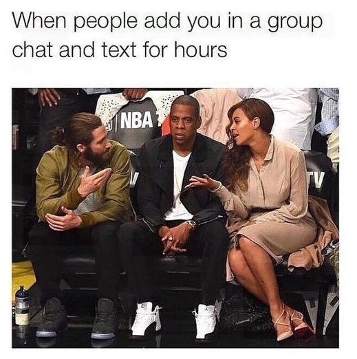 Group chats: