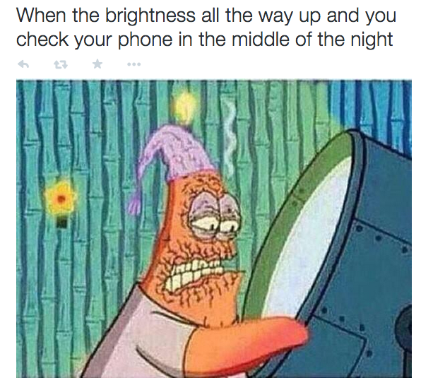 Being blinded: