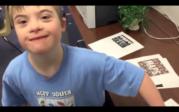 So his teachers made a video about how much he loves Maroon 5 and sent it Fox 5 and D.C. radio station Hot 99.5.