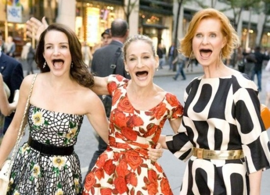 莎拉潔西卡帕克(Sarah Jessica Parker)、辛西雅尼克森 (Cynthia Nixon)、 克莉絲汀戴維(Kristin Davis)
