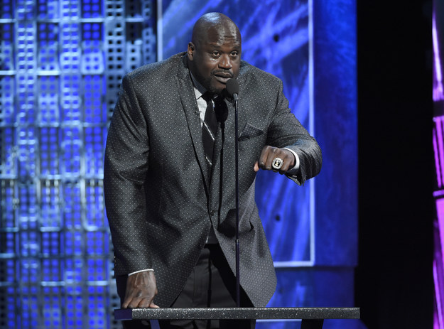 Shaq also turned up to add his voice to the chorus of non-Beliebers.