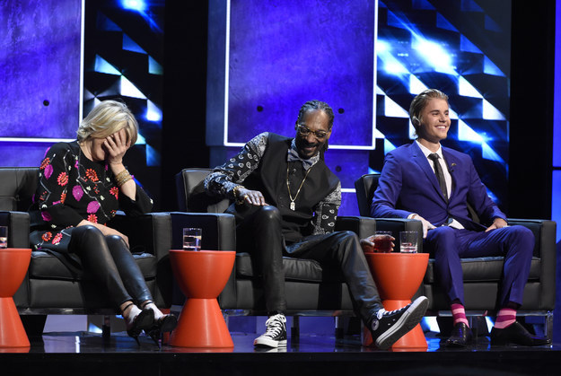 """""""All these rappers on stage and Martha Stewart has done the most jail time,"""" comedian Natasha Leggero joked."""