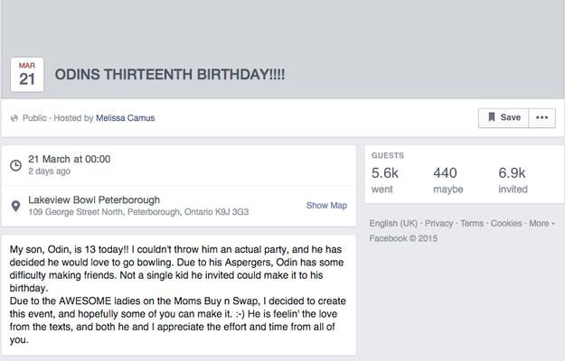 沒朋友參加13歲受霸凌自閉男孩的生日,但在母親上網發文後…全世界和好萊塢巨星都響應了!