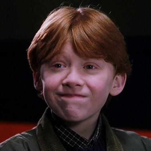 6. 小時候呆呆的榮恩、魯伯特·葛林特 (Rupert Grint) 也變成帥哥了。