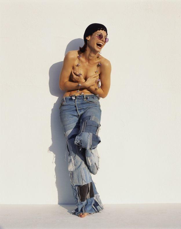 Sandra Bullock's hippie pic.
